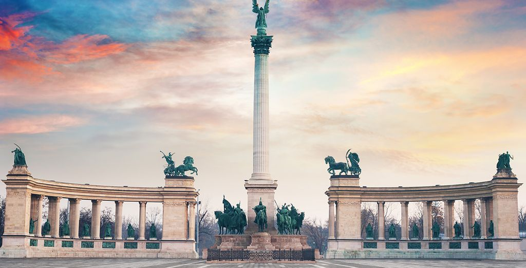 Discover historic Budapest