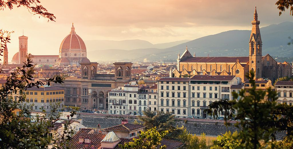 You are ideally located just a 10 min walk from the Florence Cathedral