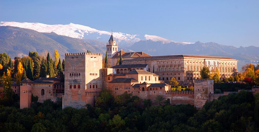 This offer includes a trip the fabulous Moorish Palace of Alhambra