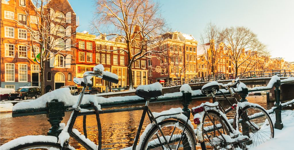Amsterdam is glorious during the winter months!