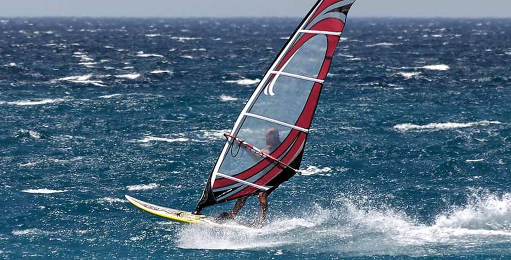 Or try your hand at some exhilarating watersports