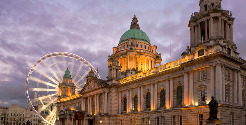 Enjoy a stay in our luxurious hotels in Belfast
