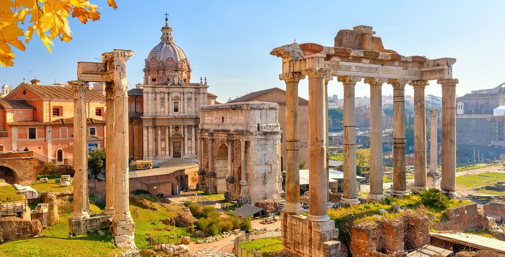Learn interesting things about the Roman culture in Rome with Voyage Privé