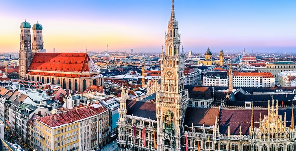 Discover the world-class sights, art galleries and museums of Munich