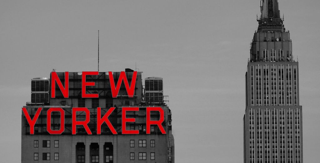 Then move onto the New Yorker Hotel in New York for 3 nights