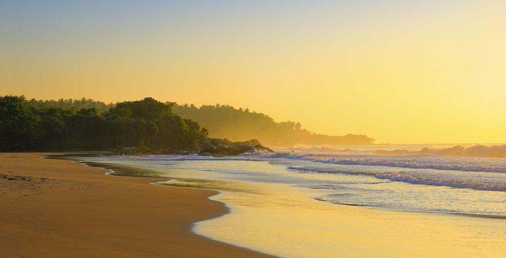 And beautiful beaches