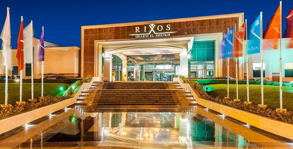 At Rixos Sharm - Rixos Sharm El Sheikh 5* Sharm El Sheikh