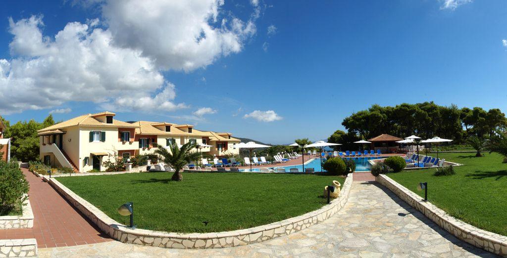 In a peaceful, wooded location - Keri Village Hotel**** - Zakynthos (Zante) - Greece Zante