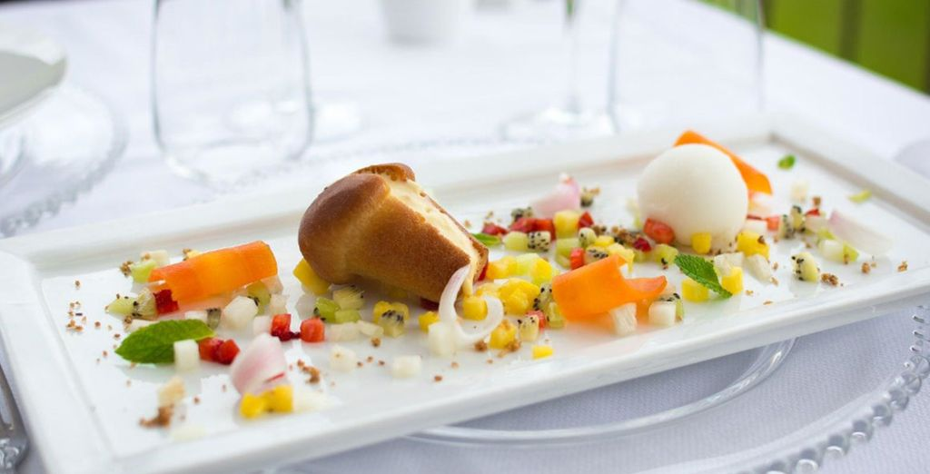 Spend an evening fine dining in the restaurant,