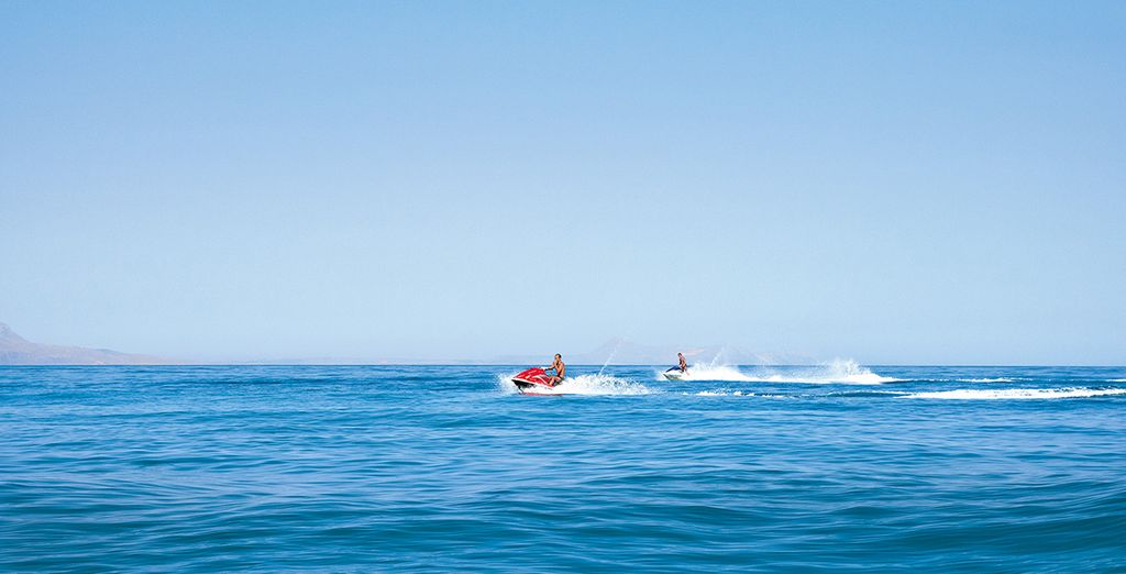 There are exciting watersports for you to choose from