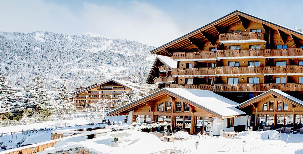 An award-winning spa resort in the Swiss Alps