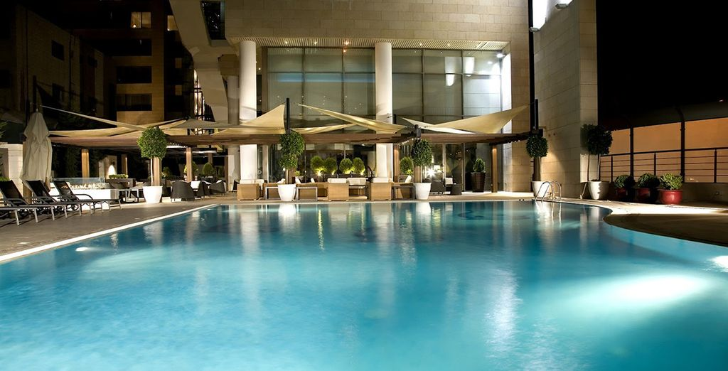 While staying at the luxurious Kempinski Hotel Amman 5*