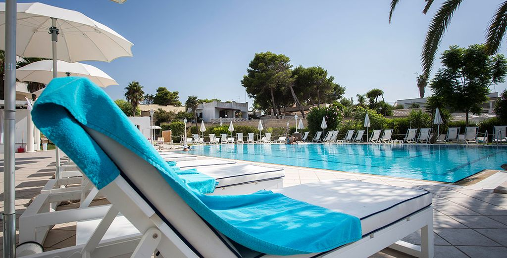 Enjoy unlimited access to the pools