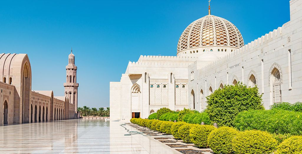 Places of cultural significance (Sultan Qaboos Grand Mosque)