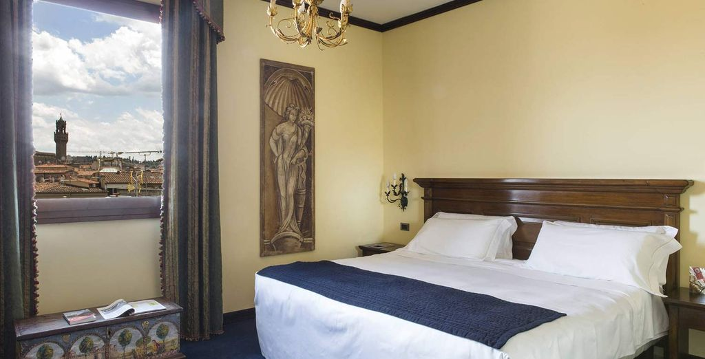 Our members will stay in a Deluxe Room