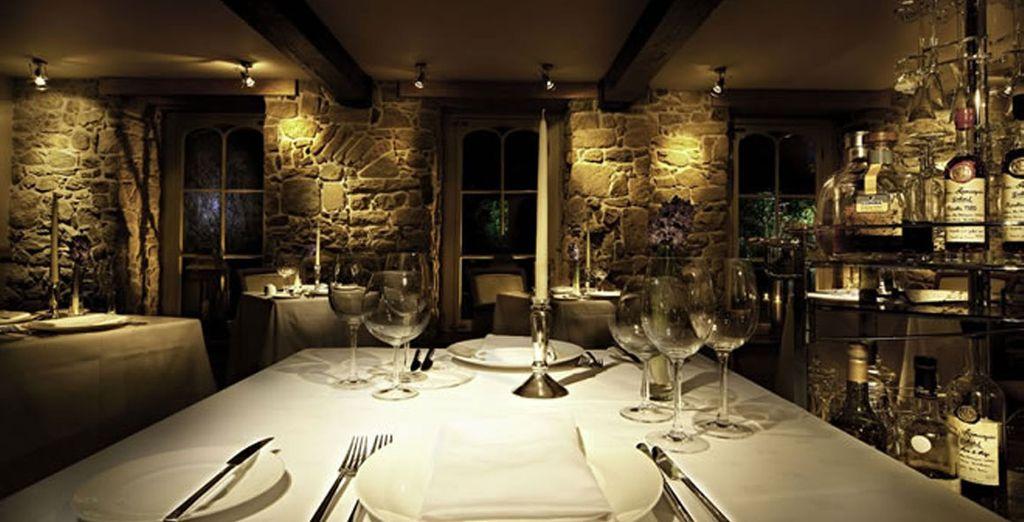 Enjoy fine dining in the hotel restaurant