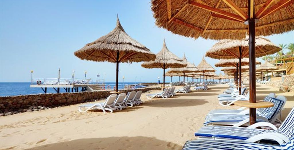 Bathe in the sea or try some thrilling watersports at the beach