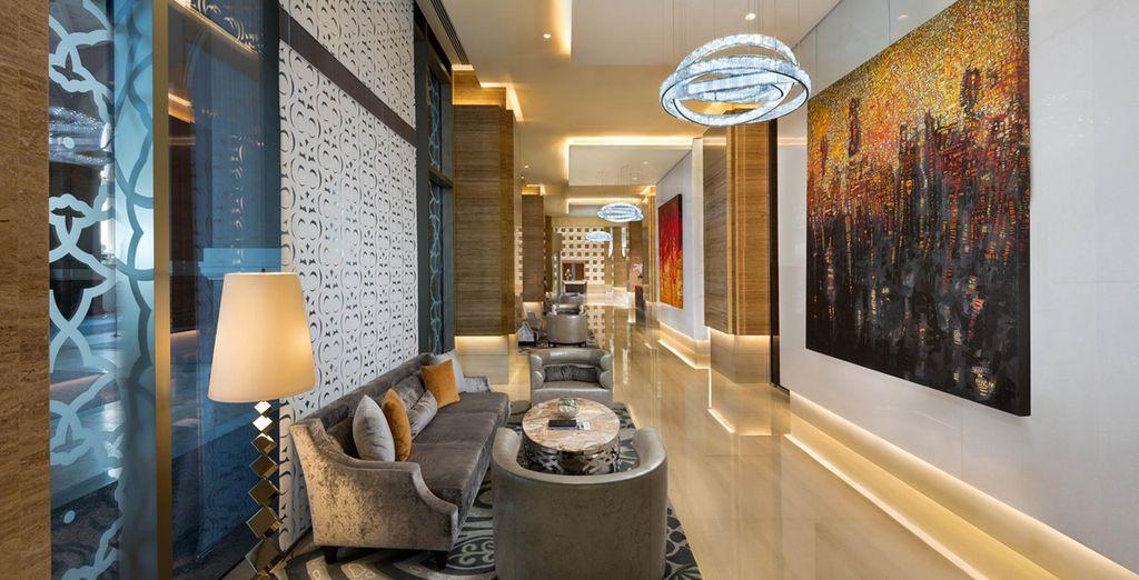 And roam through a hotel that feels like an art gallery