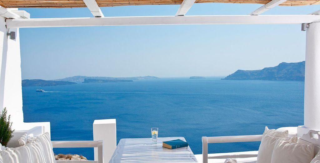 Enjoy your breakfast with these picture postcard views