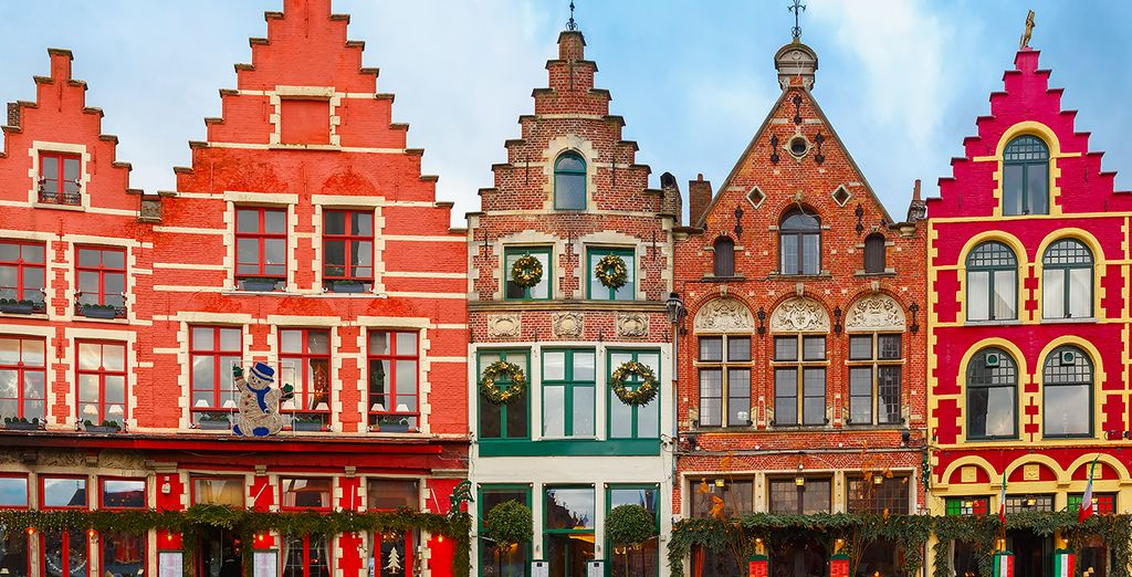 City Breaks in Bruges : the Markt