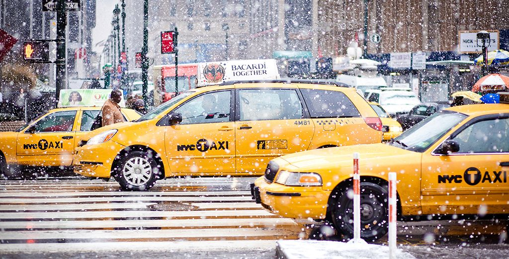 Hail an iconic yellow cab