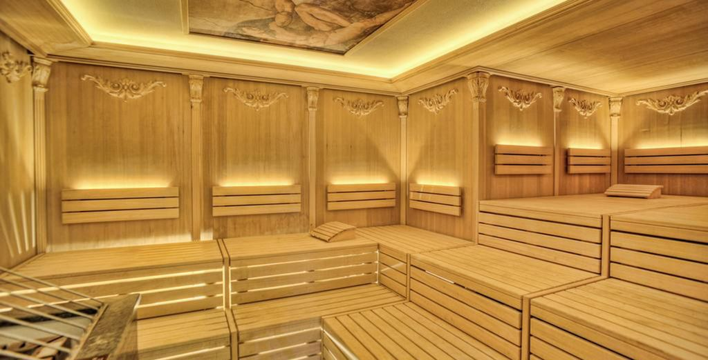And numerous saunas and hammams