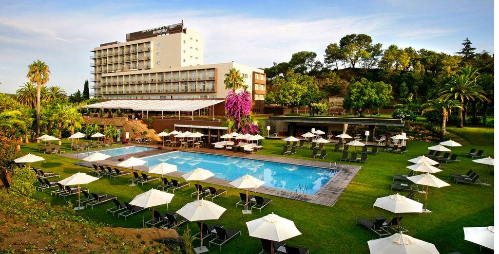 Guitart Gran Hotel Monterrey Lloret Del Mar