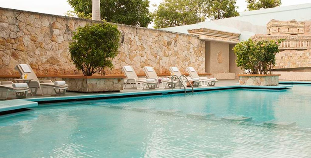 With great facilities, so you can relax and soak up the sunshine after sightseeing (Maison Merida)