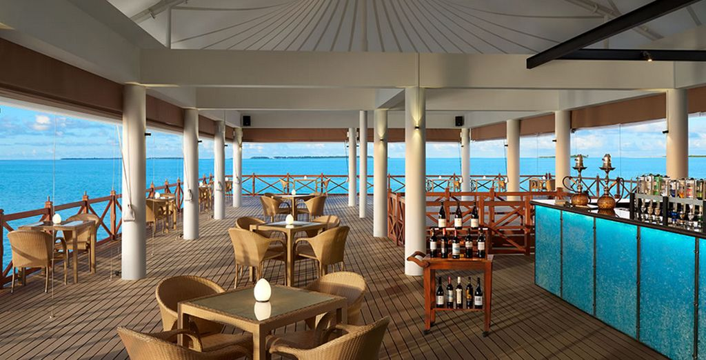 Our offer is All Inclusive, so you can feast from sunrise...