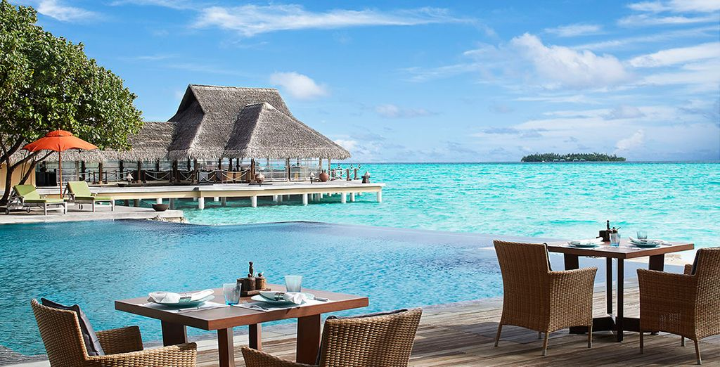 An award-winning resort awaits.... - Taj Exotica Resort And Spa 5* Male