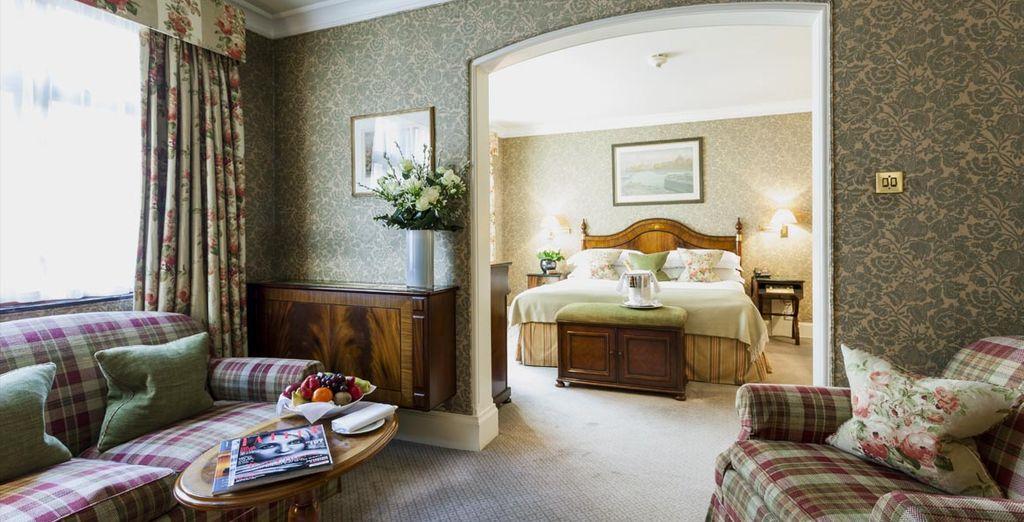 Or an elegant Junior Suite