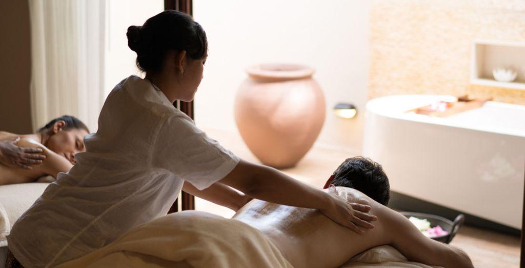 For an indulgent massage