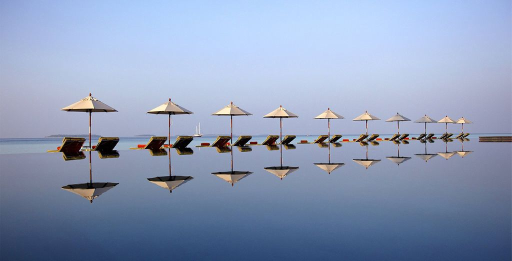 Or just chill out by the main infinity pool