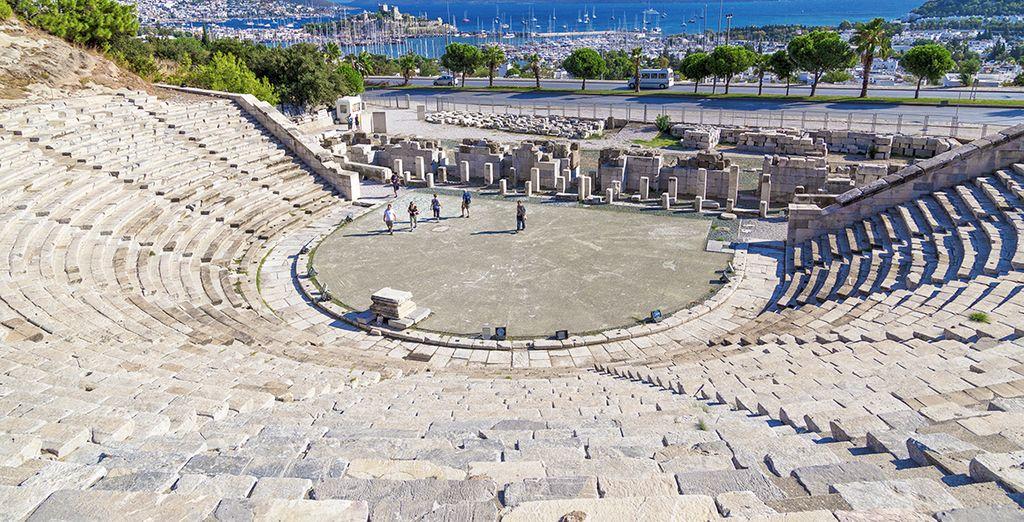 The Amphitheatre of Bodrum