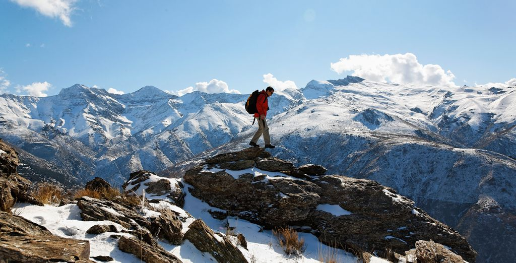The mountains beckon...
