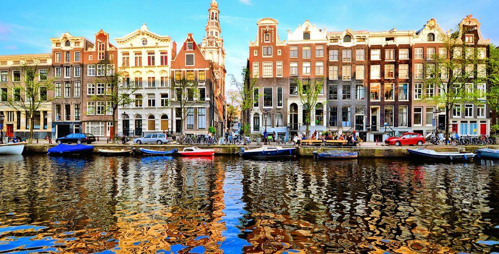 In the colourful Dutch cpaital