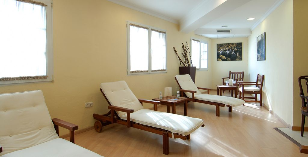 Alongside 15% discount on spa treatments!