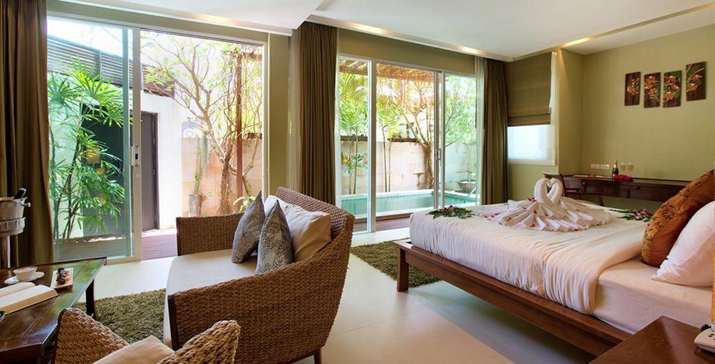 Or a beautiful Garden Villa