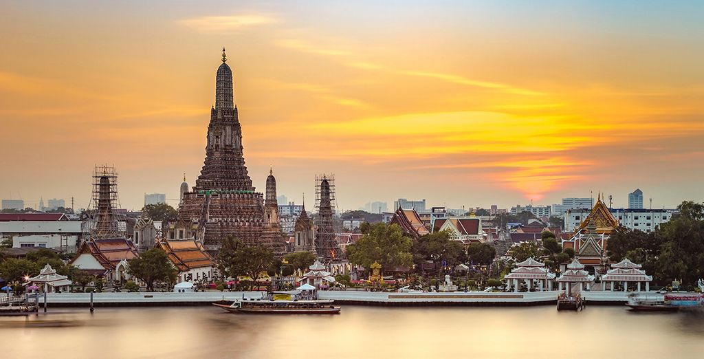 You may choose to add a 2-night stopover in Bangkok