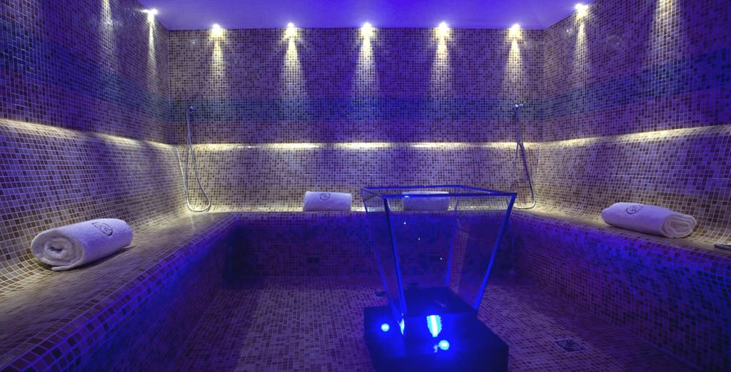 Or a steamy Hammam session