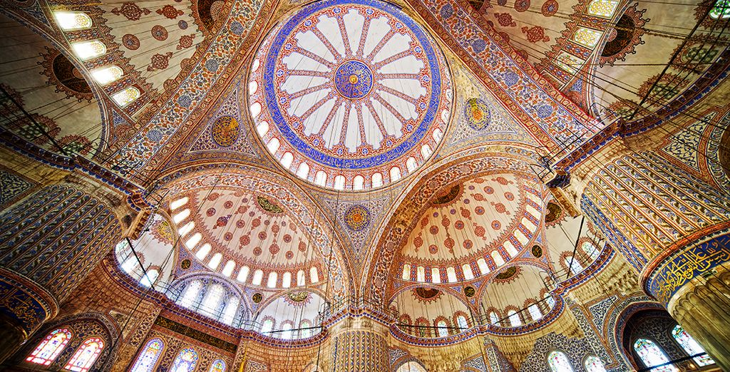From the Blue Mosque