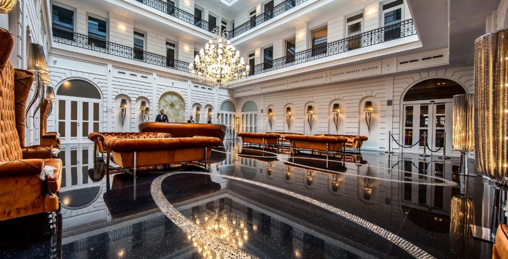 Treat yourself to some elegance just moments from the Danube River