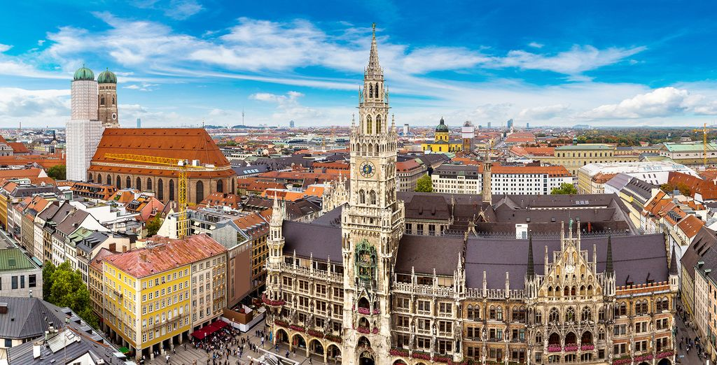 Spend some time exploring the Bavarian capital