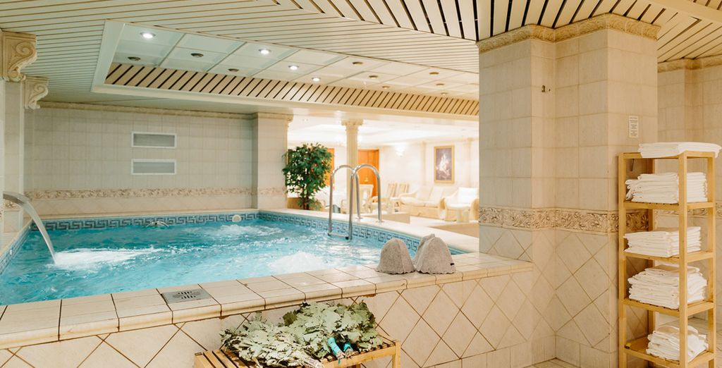 Discover the hotel's spa complex