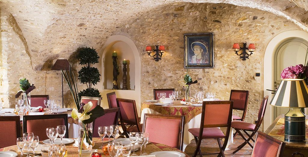 Sample the world-renowned French cuisine in unique surroundings