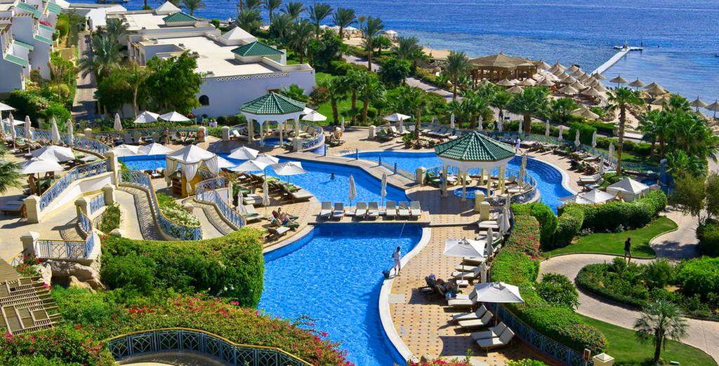 The stylish Hyatt Regency welcomes you... - Hyatt Regency Sharm 5* Sharm El Sheikh