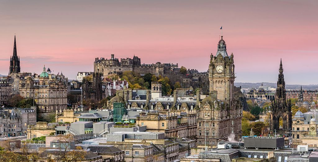 Discover our best hotels in Edinburgh*