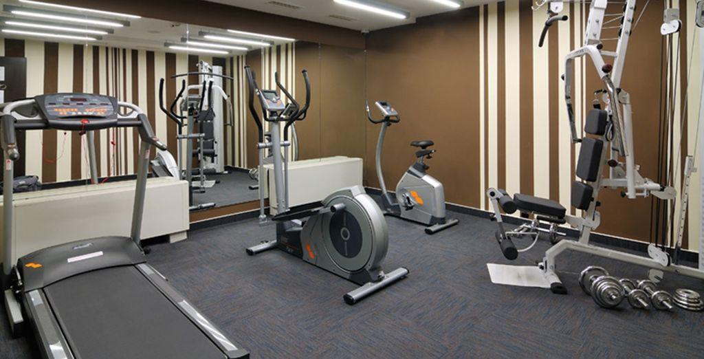 Enjoy a workout