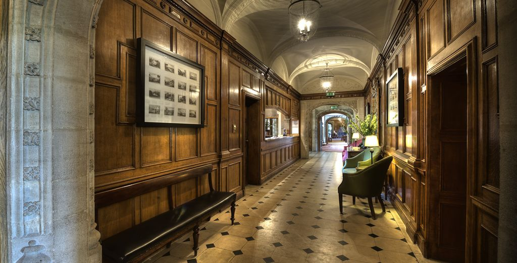Feel the rich history as soon as you step into the place - Bovey Castle***** - Devon, Dartmoor National Park - England Devon