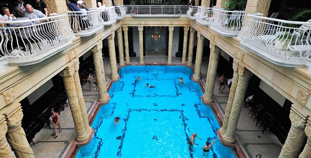 Be sure to visit the famous Gellert Baths